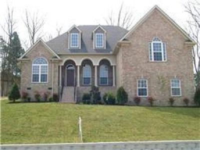 Mount Juliet Single Family Home Under Contract - Not Showing: 9102 Brooks Xing