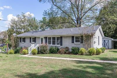 Shelbyville Single Family Home For Sale: 1603 Valley Rd