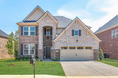 Mount Juliet Single Family Home For Sale: 5180 Giardino Drive Lot #101