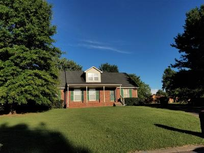 Murfreesboro TN Single Family Home For Sale: $280,000