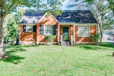 Nashville TN Single Family Home For Sale: $315,000