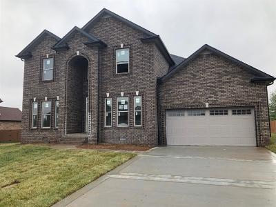 Clarksville Single Family Home For Sale: 158 Farmington