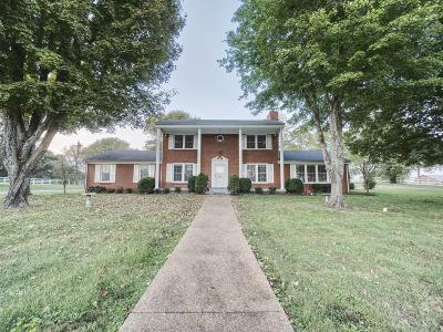 Gallatin Single Family Home For Sale: 1572 Long Hollow Pike