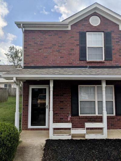 Rutherford County Condo/Townhouse For Sale: 960 Ruch Ln