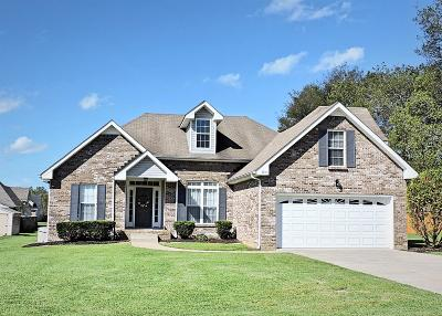 Clarksville Single Family Home Under Contract - Not Showing: 3891 Benjamin Dr
