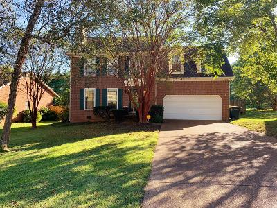 Spring Hill Single Family Home Under Contract - Not Showing: 1633 Witt Hill Dr