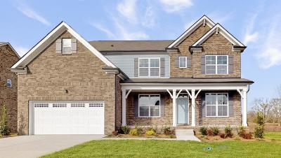Murfreesboro Single Family Home For Sale: 4004 Jacobcrest Ln Lot 32