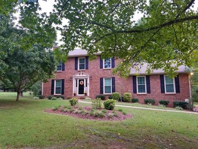 Mount Juliet Single Family Home For Sale: 600 Francis Cir