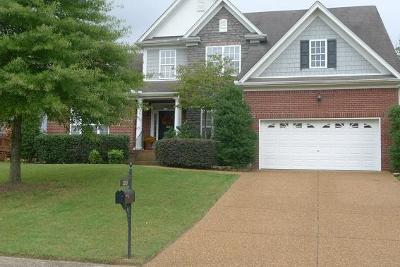 Mount Juliet Single Family Home For Sale: 2003 Arden Ct