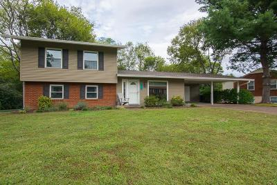 Nashville Single Family Home Under Contract - Not Showing: 324 Gaywood Dr