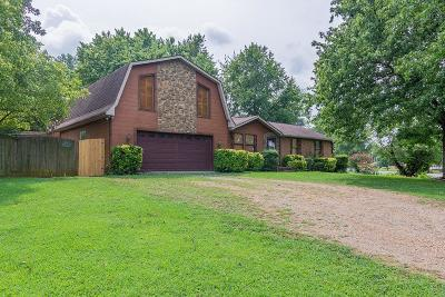 Murfreesboro Single Family Home Under Contract - Not Showing: 7267 Vintage Ct