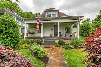 Nashville Single Family Home Under Contract - Showing: 1315 McKennie Ave