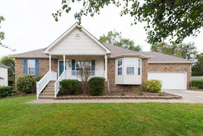 Wilson County Single Family Home Under Contract - Showing: 719 Veneta View Dr