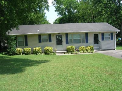 Single Family Home For Sale: 1124 White Blvd