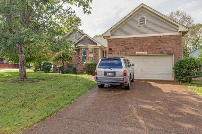 Goodlettsville Single Family Home Under Contract - Not Showing: 101 Lidgate Terrace