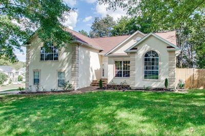 Mount Juliet Single Family Home Under Contract - Not Showing: 2119 Brookstone Dr