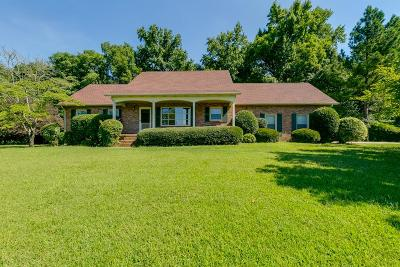 Mount Juliet Single Family Home For Sale: 612 Cooks Hill Rd