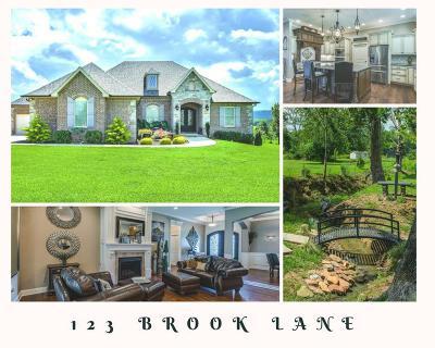 Cookeville Single Family Home Under Contract - Not Showing: 123 Brook Lane