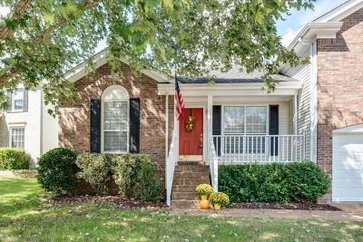 Franklin Single Family Home Under Contract - Showing: 2214 Falcon Creek Dr
