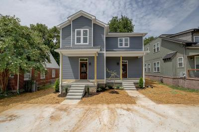 East Nashville Single Family Home For Sale: 2423 B Inga