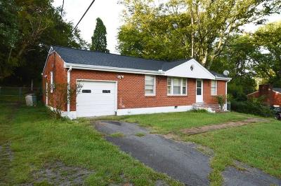 Nashville TN Single Family Home Sold: $170,000