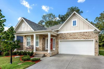 Mount Juliet Single Family Home For Sale: 2836 Lakeside Meadows Cir