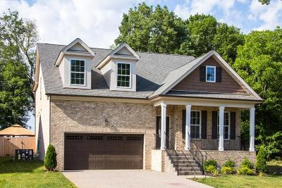 Mount Juliet Single Family Home For Sale: 704 Masters Way