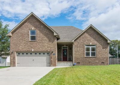 Robertson County Single Family Home For Sale: 1380 Station Dr
