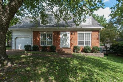 Franklin Single Family Home For Sale: 1632 Birchwood Cir