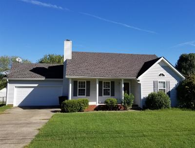 Single Family Home Under Contract - Not Showing: 1314 Cason Trl