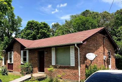 Ashland City, Pleasant View, Joelton, Pegram Single Family Home Under Contract - Not Showing: 3186 Bell St