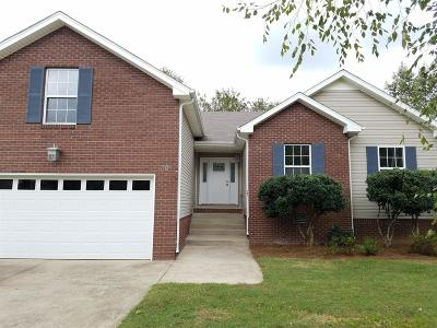 Clarksville TN Single Family Home For Sale: $179,900