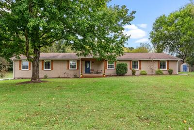 Nashville Single Family Home For Sale: 9547 S Harpeth Rd