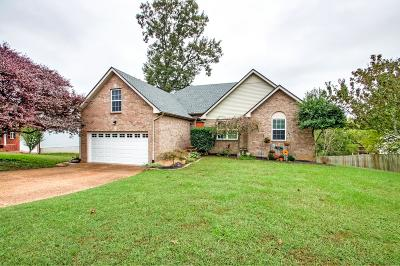 Wilson County Single Family Home Under Contract - Showing: 2538 Edinburgh St