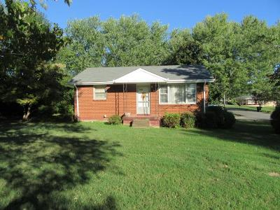 Robertson County Single Family Home Under Contract - Showing: 128 Brentlawn Dr
