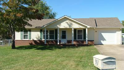Clarksville Single Family Home For Sale: 907 Cal Ct