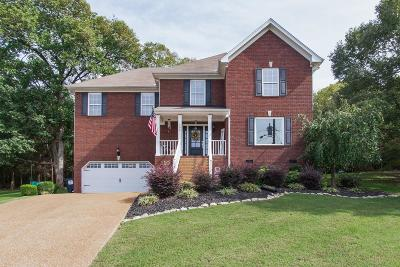 Smyrna Single Family Home For Sale: 706 Orkney Ct Lot 210
