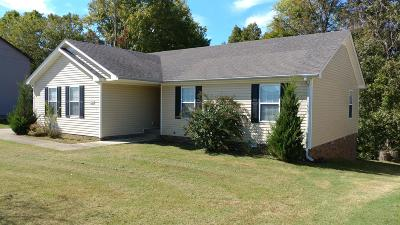 Clarksville Single Family Home For Sale: 3360 N Henderson Way