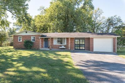Murfreesboro Single Family Home Under Contract - Not Showing: 710 Greenland Dr