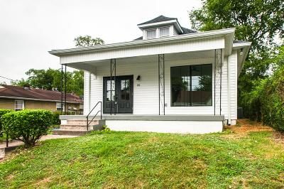 Nashville Single Family Home Under Contract - Showing: 1811 15th Ave N