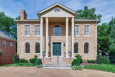 Nashville Single Family Home For Sale: 4 Wyndham Place