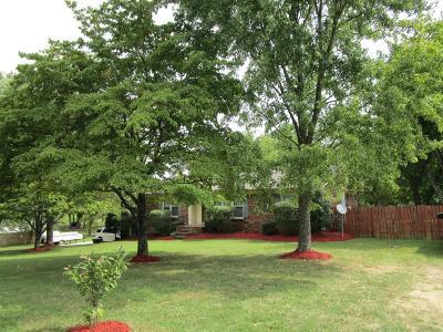 Robertson County Single Family Home For Sale: 204 Hamlett Dr