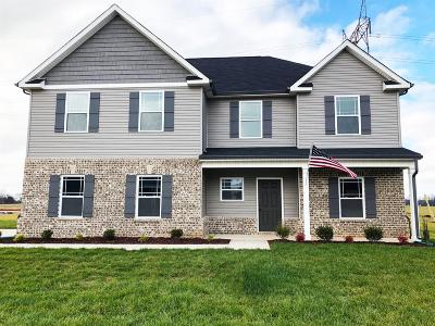 Clarksville Single Family Home Under Contract - Not Showing: 358 West Creek Farms