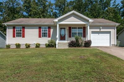 Christian County Single Family Home Under Contract - Not Showing: 326 Pine Hill