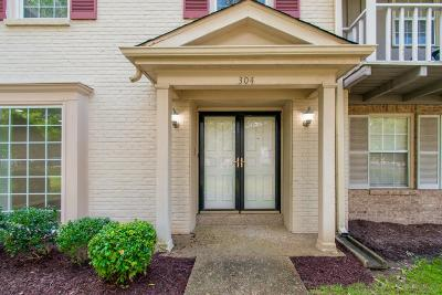 Nashville Single Family Home For Sale: 8300 Sawyer Brown Rd. G304