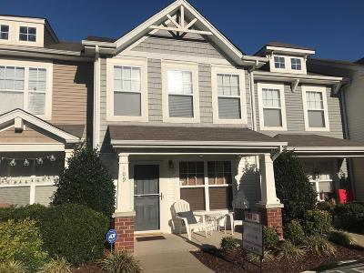 Davidson County Condo/Townhouse For Sale: 109 Shadow Glen #109