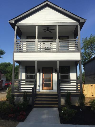 Nashville Single Family Home For Sale: 1319 Jones Ave