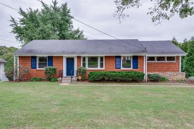 Nashville Single Family Home For Sale: 508 Hogan Rd