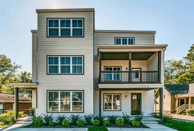 Nashville Single Family Home For Sale: 1723 B Nassau St