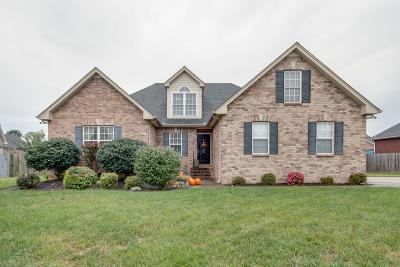 Murfreesboro Single Family Home For Sale: 1737 Cozumel Ct